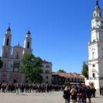 Celebrating Last Bell Kaunas Lithuania
